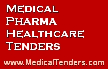 Medical, Healthcare Tenders